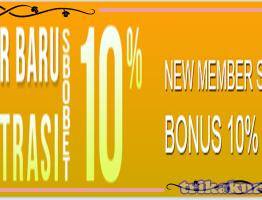 Dapatkan Bonus New Member Agen Asli4D