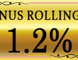Rollingan 1,2% Live Casino Agen IndowinBola