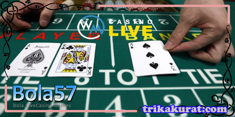 Agen BlackJack WM Casino Terbaik Bola57