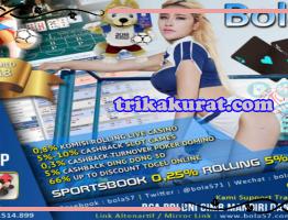 Agen Judi Online Permainan Terlengkap Bola57