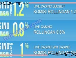 Komisi Rollingan Casino Terlengkap Bola57