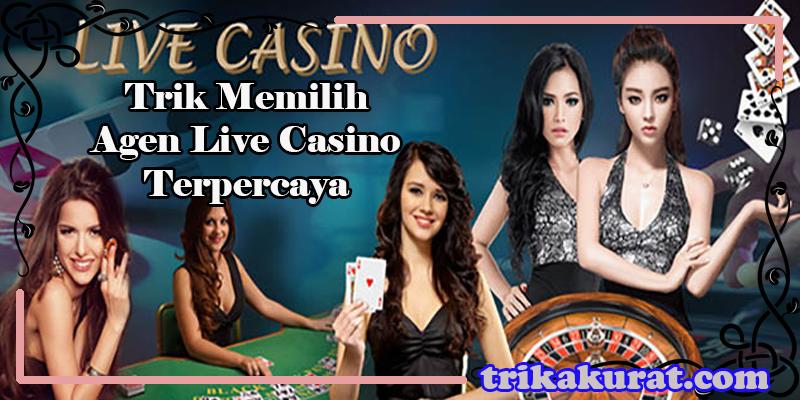 Trik Menentukan Agen Live Casino Terpercaya
