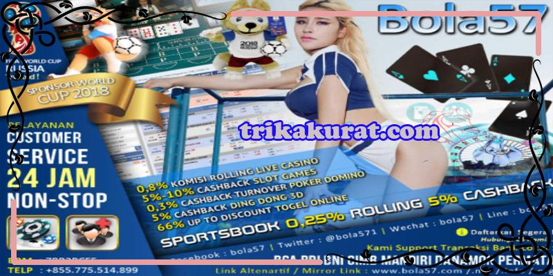 Cashback Judi Bola Online Bola57