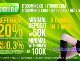 Judi AduQ Online Agen ituDomino