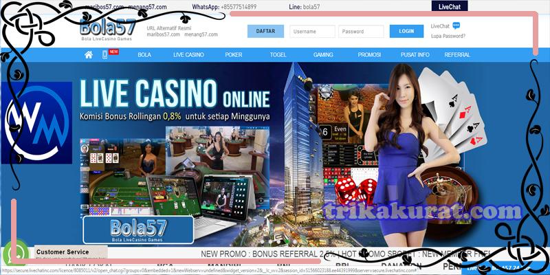 Keuntungan Bermain Casino di Agen Bola57