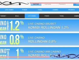 Rollingan Casino Online Tertinggi Bola57