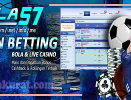 Agen Betting Bola Online Live Casino Sbobet Bola57