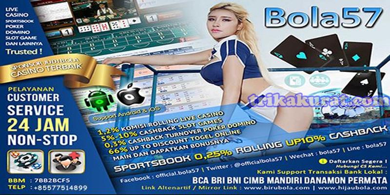 Livechat Bandar Judi Bola Online Bola57