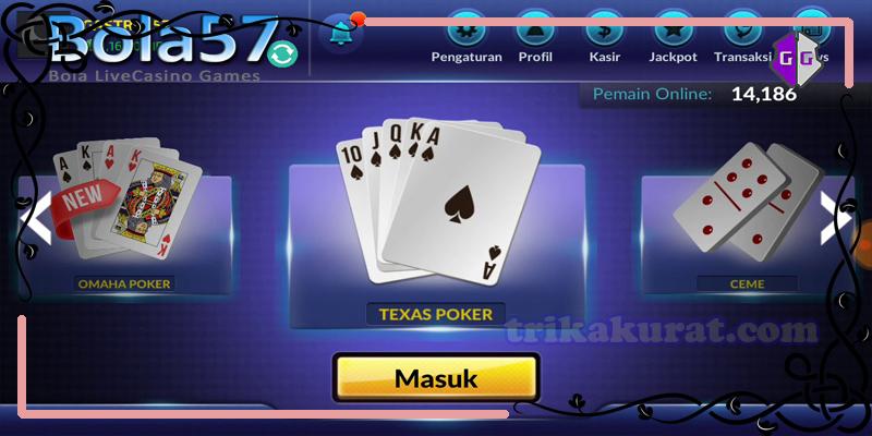 Trik Dasar Menang Judi Poker Online