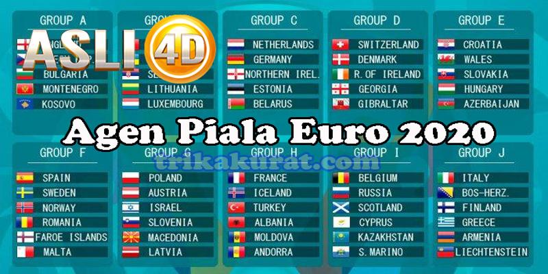 Asli4D Agen Judi Bola Piala Euro 2020 Terbaik