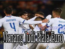 Cara Menang Judi Bola Sbobet Piala Euro 2020