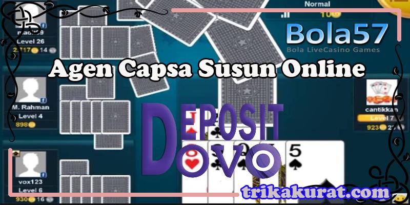 Play Capsa Susun Online Bola57 Deposit Via OVO