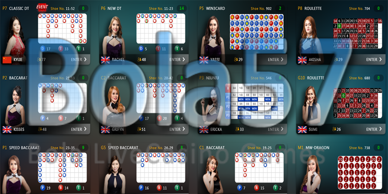 Agen Live Casino Origiental Gaming Bola57