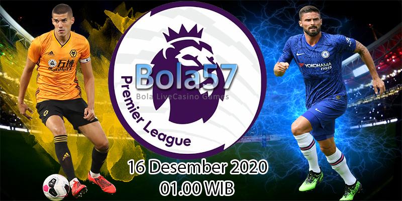 Prediksi Liga Inggris Wolverhampton vs Chelsea 16 Desember 2020