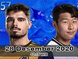 Prediksi Wolverhampton vs Tottenham 28 Desember 2020
