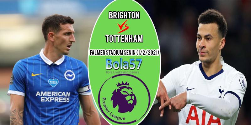 Prediksi Brighton vs Tottenham 01 Februari 2021