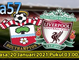 Prediksi Southam vs Liverpool 05 Januari 2021