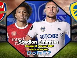 Prediksi Arsenal vs Leeds 14 Februari 2021