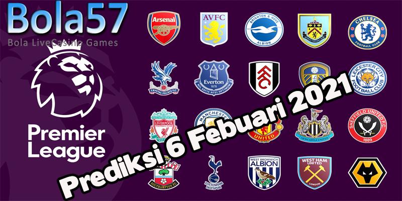 Prediksi Liga Inggris Semua Pertandingan 06 Februari 2021