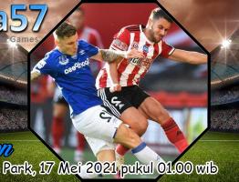 Prediksi Everton Vs Sheffield United 17 Mei 2021