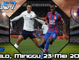 Prediksi Liverpool vs Crystal Palace 23 Mei 2021