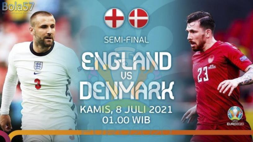 Prediksi Inggris vs Denmark Semi Final Euro 2020