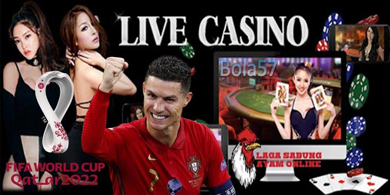 Agen Live Casino Piala Dunia 2022 Bola57