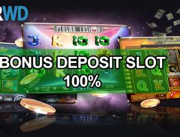 Bonus Deposit 100% Slot Online Terpercaya SuperWD